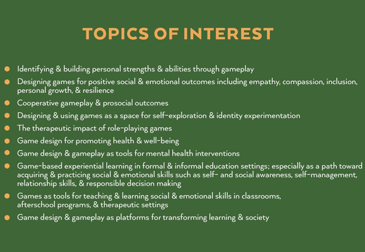iThrive Journal Topics of Interest
